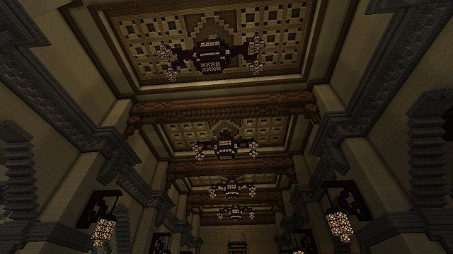 Tower of terror ( disneyland Paris version ) Minecraft Project