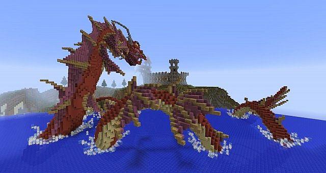 Sea Serpent Minecraft Project