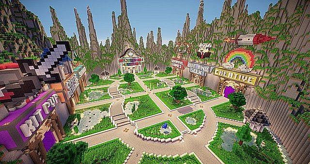Minecraft Central Hunger Games Skywars Official Server - Minecraft skywars spiele