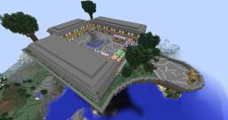 Server Mall Island - To Match Server Hub - Shops/stalls Minecraft Map & Project