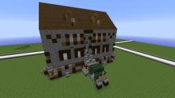 The Modern-Old house Minecraft Map & Project