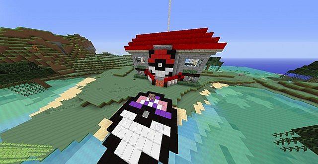1 6 4 Pixelmon Pokecenter World Download Minecraft Project