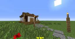Asian/oriental small house Minecraft Map & Project