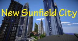 New Sunfield City [Modern City Project](v.0.0.6) Minecraft Map & Project