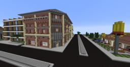 Modern builds{city server project} Minecraft Map & Project
