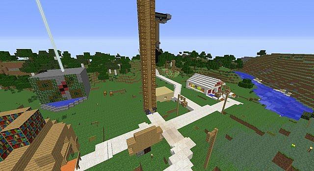 Crafted Village Minecraft