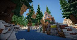 snow mountains parkour 2 Minecraft Map & Project