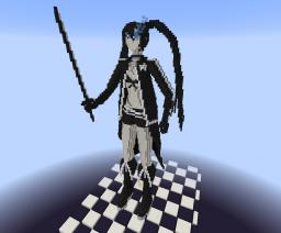 Black Rock Shooter build Minecraft