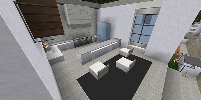 Modern interior pack 2 download interior showcase for Living room ideas in minecraft