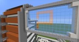 Futuristic skyscraper Minecraft Map & Project