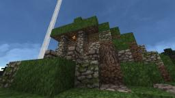 Medieval Dirt House Minecraft Map & Project