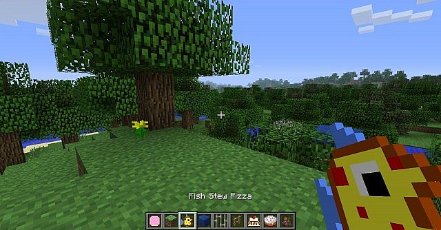 Fish Stew Pizza  -Only Works On 1.6-