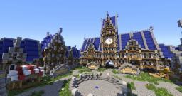 Cyane - Small Server Spawn Minecraft Project