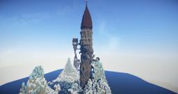 Mnara Vesh - The Falling Tower Minecraft Map & Project