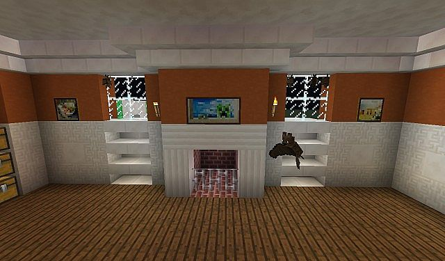 Alvin And The Chipmunks House Interior Minecraft Project