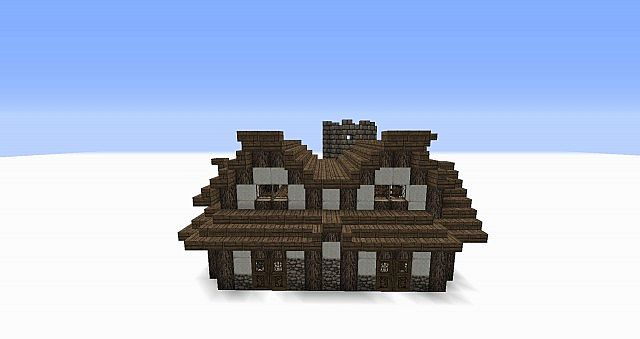 Medieval Bakery W Interior Minecraft Project
