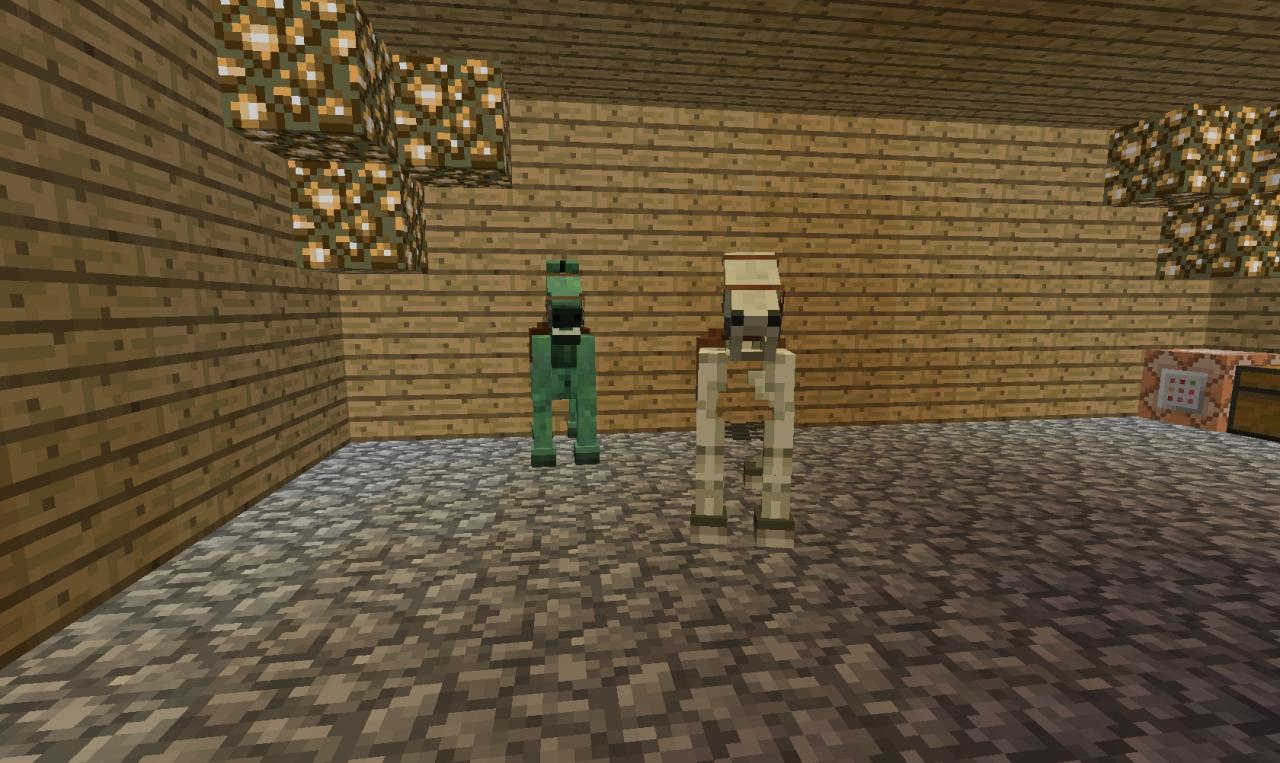 Zombie Horses Minecraft
