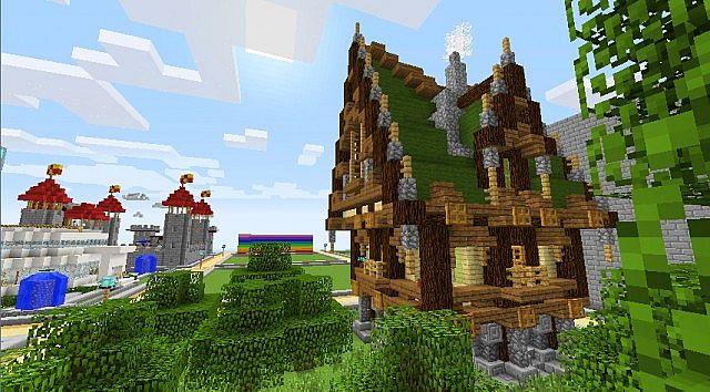 Pirate Pub  in Fantasy Pirate Survival  ! Creative Worlds