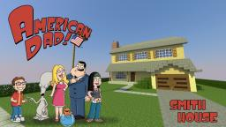 American Dad: Smith House Minecraft Project