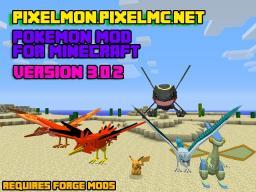 PixelMon V3.0.4 - PixelMc - Pixelmon Mod With Pokemon AUTO GYM LEADERS! Minecraft Server