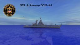 USS Arkansas CGN-41 Minecraft Project