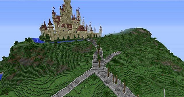 Far Far Away Kingdom Of Shrek Minecraft Project