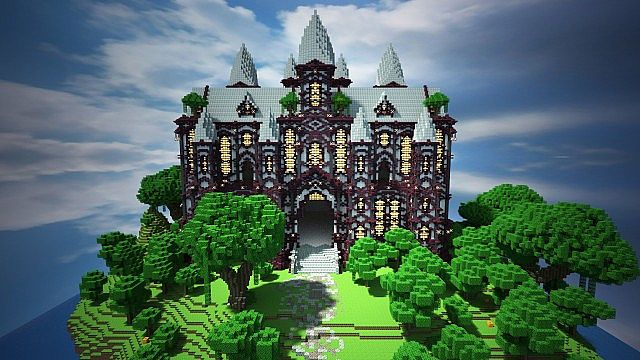 Cliff mansion minecraft project sciox Image collections