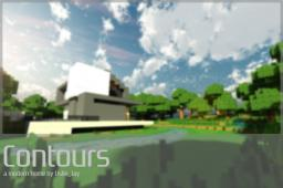 Contours - A Modern Home Minecraft Map & Project