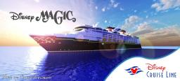 Disney Magic Re-Imagined 1:1 Scale Real Cruise Ship [Full Interior] [+Download] Minecraft Map & Project