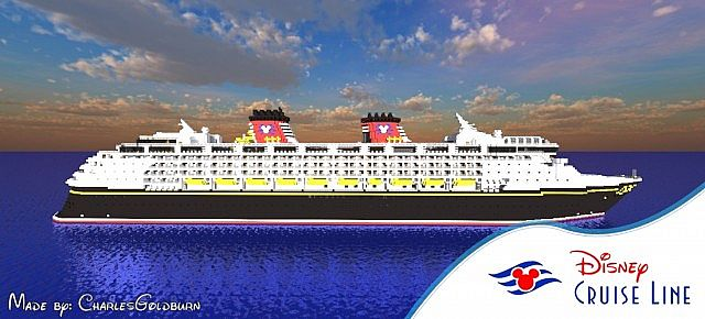 Disney Magic ReImagined Scale Real Cruise Ship Full Interior - Disney magic cruise ship