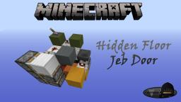 Minecraft: Hidden Jeb Floor Door Minecraft Project