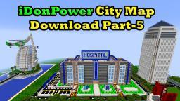 Minecraft iDonPower City Map Download Part-5 Minecraft Map & Project
