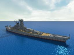 IJN Yamato Minecraft Map & Project