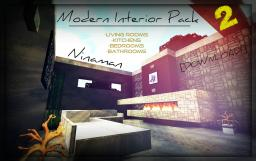 Modern Interior Pack 2 - [DOWNLOAD] - Interior showcase/tutorial - Ninaman Minecraft Map & Project