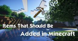 Most Wanted Items in Minecraft Minecraft Blog