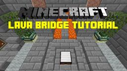 Two-Way Lava Bridge Tutorial Minecraft Blog Post