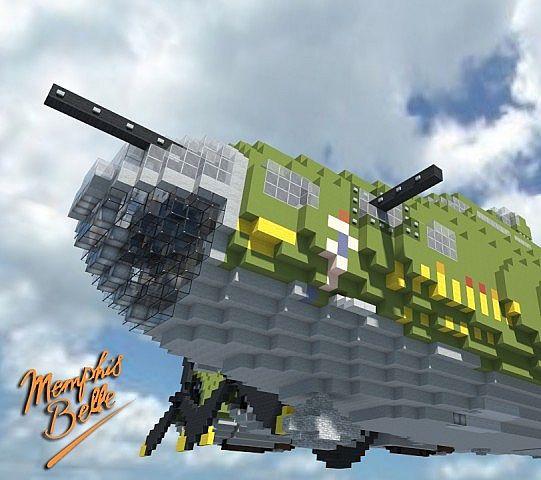 Minecraft Memphis Belle B-17f