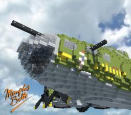 """B-17F Flying Fortress """"Memphis Belle"""" Minecraft"""