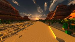 ⇑UPGRADED⇑ Mesa Biome 1026x1026 Minecraft Map & Project