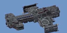 StarCraft-Minotauros class Battlecruiser. Minecraft Map & Project