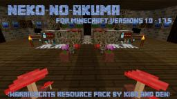 Neko-No-Akuma (a Warriors texture pack for 1.7)