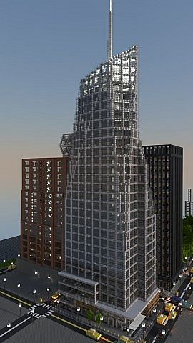 Bank Of America Tower Minecraft Project