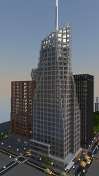 Bank of America Tower Minecraft Map & Project