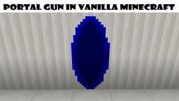Portal Gun In Vanilla Minecraft Minecraft