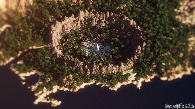 [Map] Nuchalnuth - огромный тропический остров!