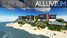 De Stijl 3 | Suburban Alluvium | Seaside Townhouses Minecraft Project