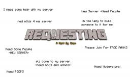 Requesting- Rant by Smex Minecraft Blog