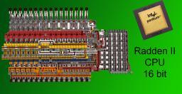 Radden II CPU 16-bit(with multiplication) Minecraft