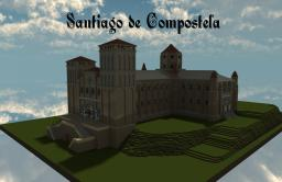 Santiago de Compostela Cathedral Minecraft Map & Project