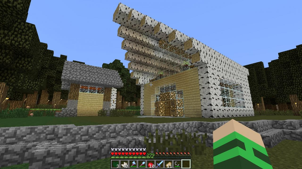 Awesome Survival House Minecraft Project